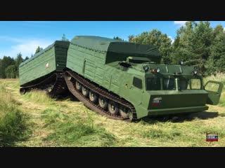 Снегоболотоход-амфибия Витязь ДТ-30П. Грузподъемность 30 тонн