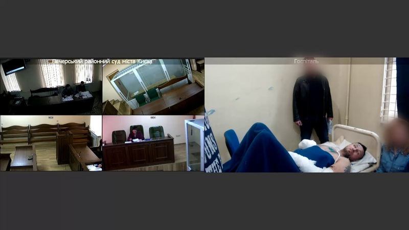 Процесуальні дії – арешт, де Олексій Комарічев називає свої анкетні дані