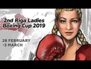 2nd Riga Ladies Boxing Cup 03 03 2019 Finals and awards