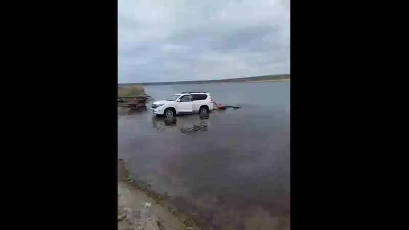 Подъем катера с озера Волчьи ворота Новоселицкое