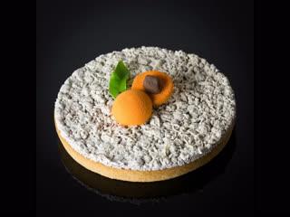 Мк по сборке и дизайну современного тарта. Интересный вариант!