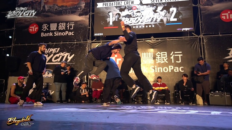 Predatorz vs Seven Eleven | Final | 4on4 | Taipei Bboy City x RF Jam