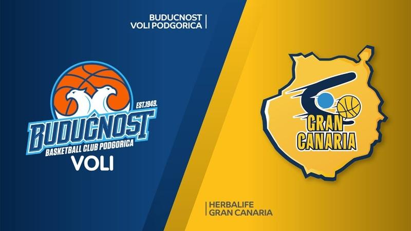 Buducnost VOLI Podgorica - Herbalife Gran Canaria Highlights   EuroLeague RS Round 20