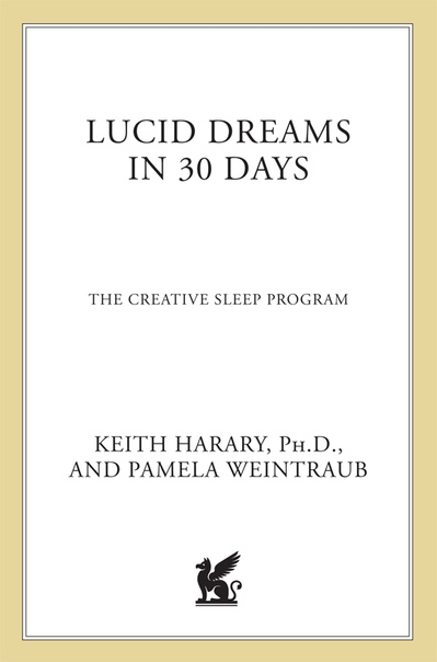 Lucid Dreams in 30 Days by Keith Harary, Pamela Weintraub (1)