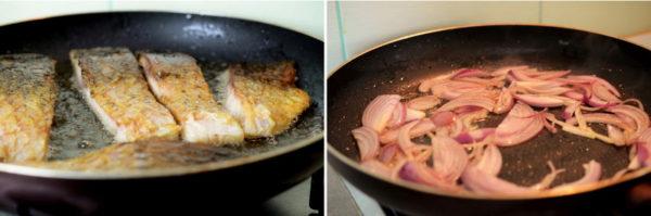 Запеченная рыба с овощами, изображение №4