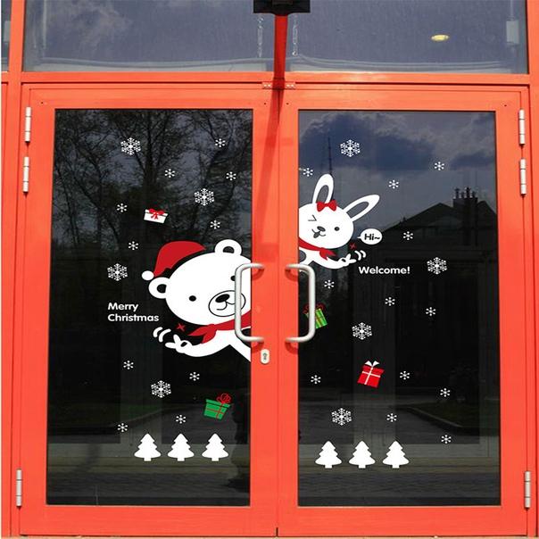 плакат на окно для магазина начать