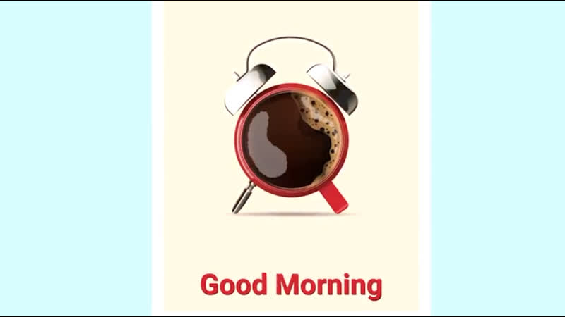 Designing a vector poster. Сoffee cup with alarm clock in adobe illustrator