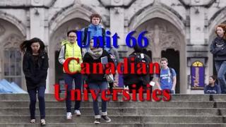 Learn English via Listening Level 3 Unit 66 Canadian Universities
