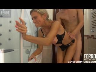 Ferro  - Ninette and Robin секс с мамой в ванной