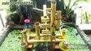 Guồng nước cối xay bằng cánh quạt nước, ống nhựa