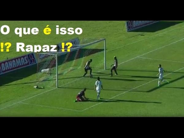 Gol inusitado: Flávio Caça-Rato 'rouba' Gol de companheiro
