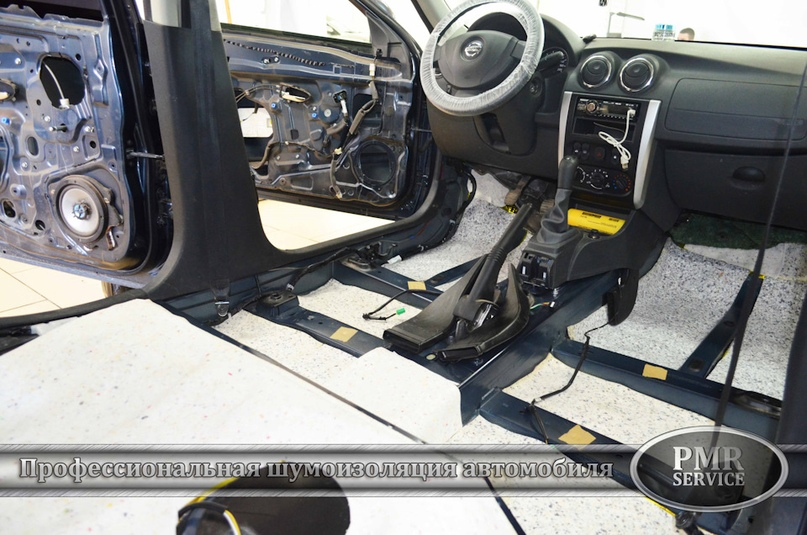 Шумоизоляция Nissan Almera, изображение №13
