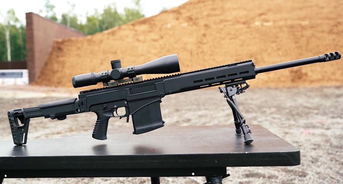 Дальнобойная винтовка СВЧ под патрон .338 LAPUA MAGNUM