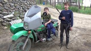 """Оживление мотоцикла """"Урал"""" ,пригнал подписчик на ремонт."""
