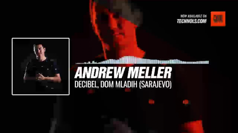 @mellerandrew Decibel Dom Mladih Sarajevo Periscope Techno music