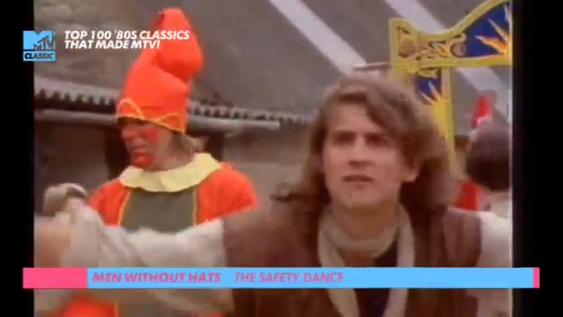 Men without hats - the safety dance mtv classic