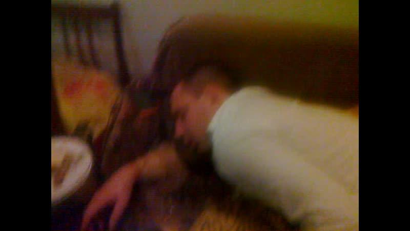 Дима Бабич заблевал кровать