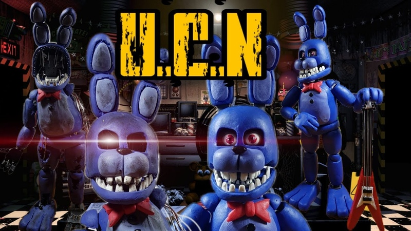 UNWITHERED AND WITHERED BONNIE😧😧(REMAKE) UCN.....PLASTILINA✔✔ OPCIONAL (PORCELANAPOLYMER CLAY)