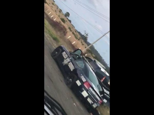 Ataque a policías federales en Morelia