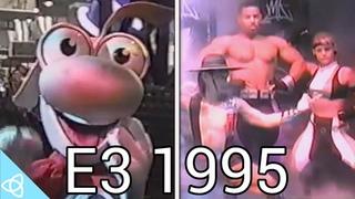 E3 1995 Showfloor Nintendo, Sega, Playstation, Jaguar, Mortal Kombat, Doom and More