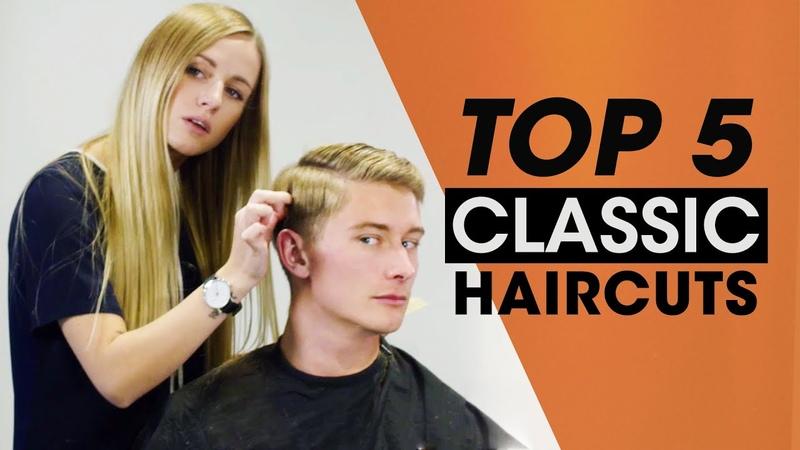 Top 5 Classic Mens Hair Tutorials - Haircut Hairstyle