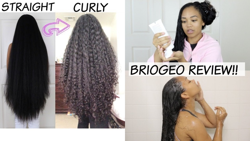 HOW TO: Straight to Curly | No Heat Damage!! Briogeo Curl Charisma Review