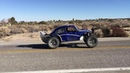 V8 Baja bug getting down at the dunes desert and streets Pizza Hut bug