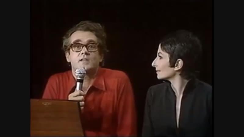 Zizi Jeanmaire Michel Legrand Avec les anges 1968