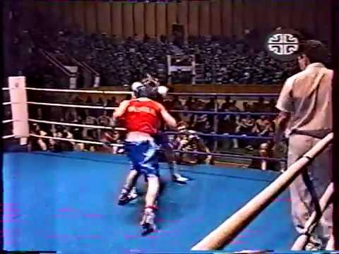 Бокс Малетин Россия Кервик США 30 01 1999