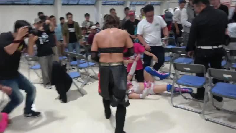5. Hana Kimura Kagetsu vs. Hiromi Mimura Konami