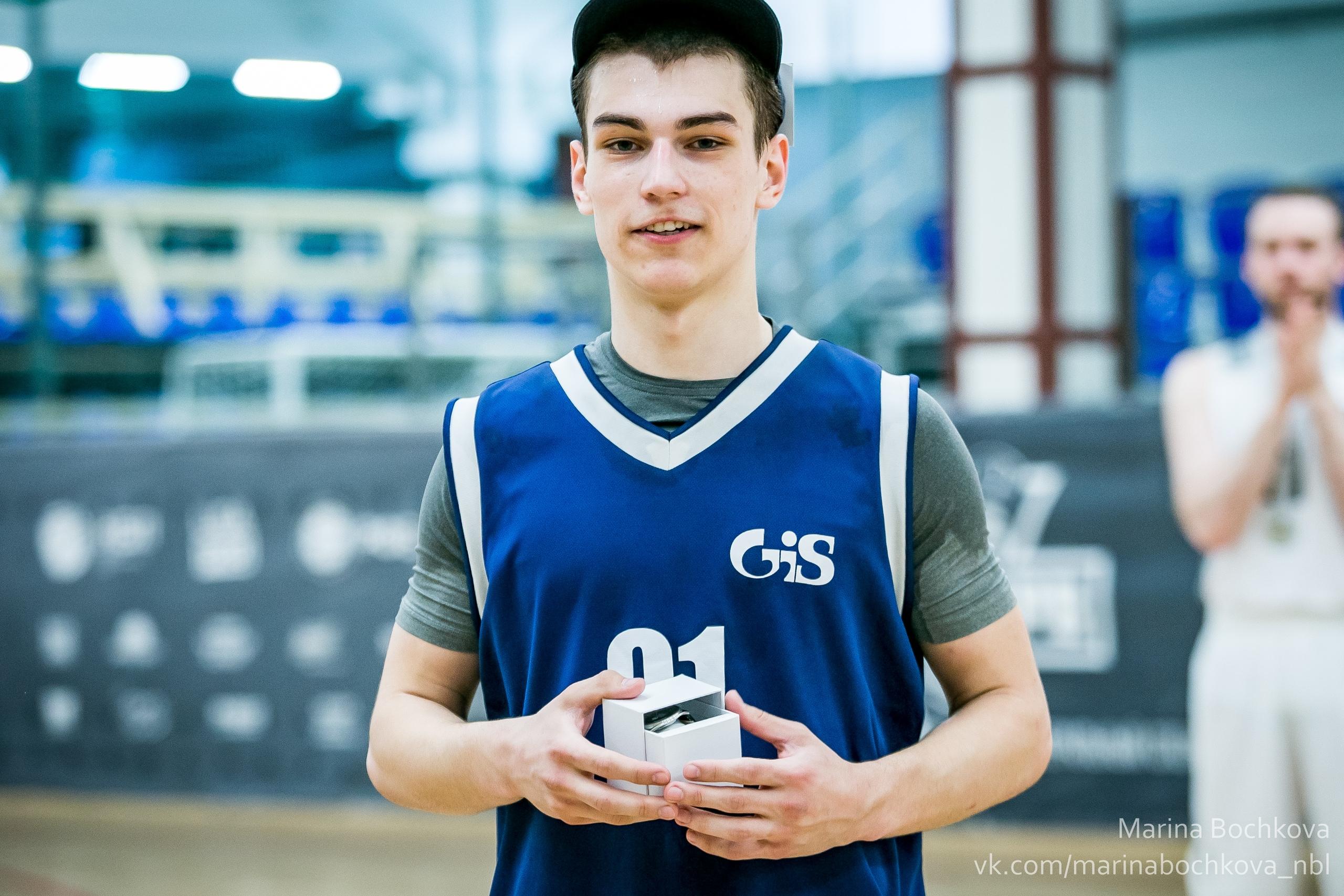 Данила Рагушин – MVP Пятого Дивизиона НБЛ сезона 2018-2019
