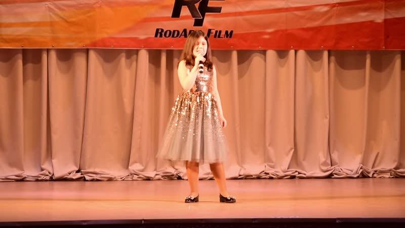 Эмилия Мокрушина Оранжевая песня @ Белый КиТ Псковские вечера