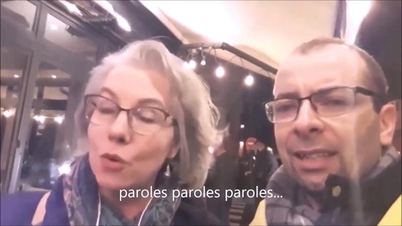 JACLINE MOURAUD INFILTRÉE ou OPPORTUNISTE faux giletjaune giletjaune