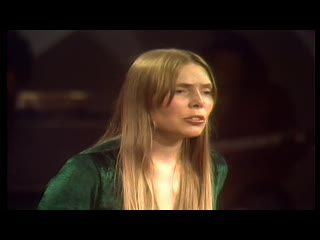 Joni mitchell — the fiddle and the drum = the dick cavett show rock icons
