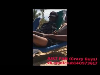 Beach wanker brazil член хуй дроч cock penis wank jerk public 4fun