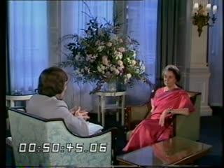 Indira Gandhi Interview