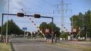 Spoorwegovergang Blerick (Venlo) Dutch railroad crossing