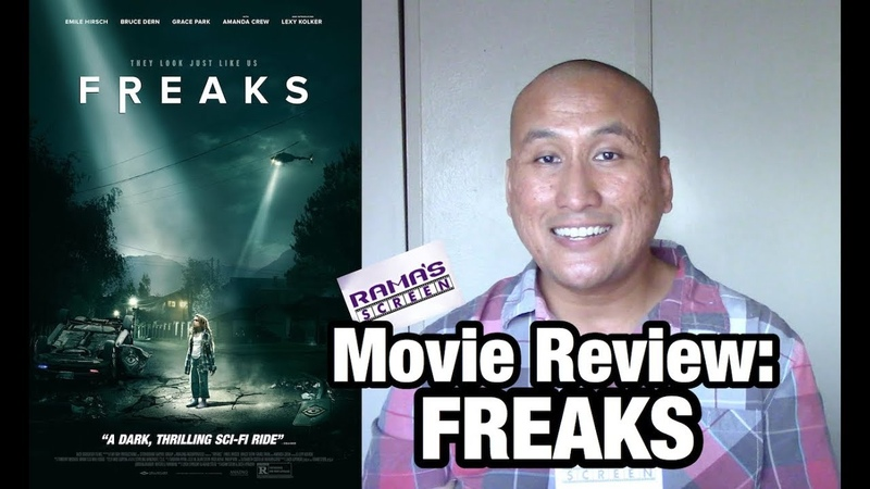 Movie Review 'FREAKS' Starring Amanda Crew and Emile Hirsch