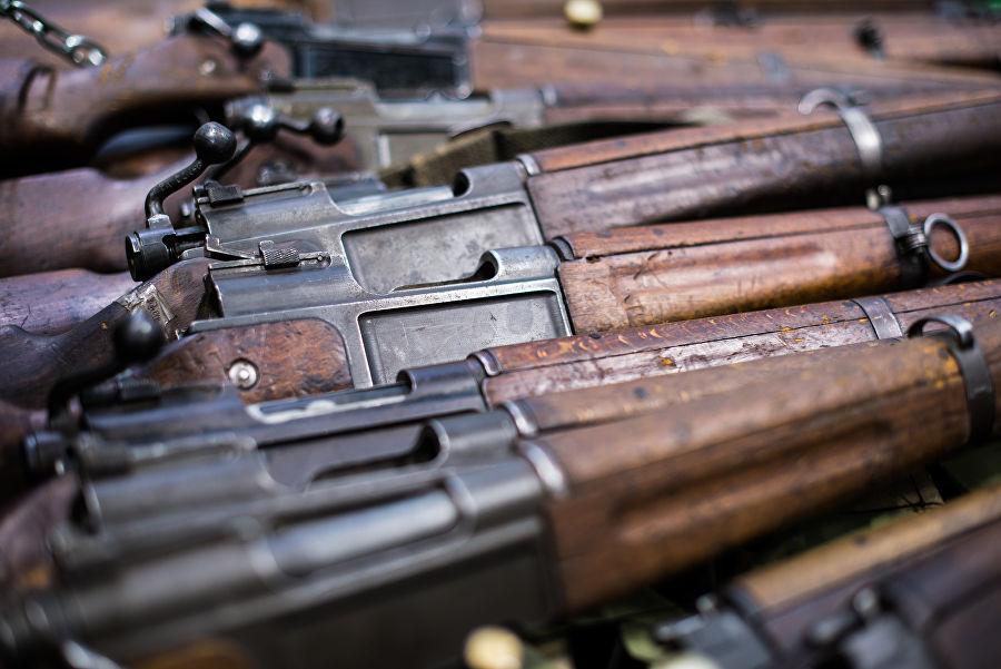 Трофеи из «песочницы»Репортаж c выставки вооружений сирийских боевиков, изображение №35