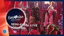 Iceland LIVE Hatari Hatrið mun sigra First Semi Final Eurovision 2019