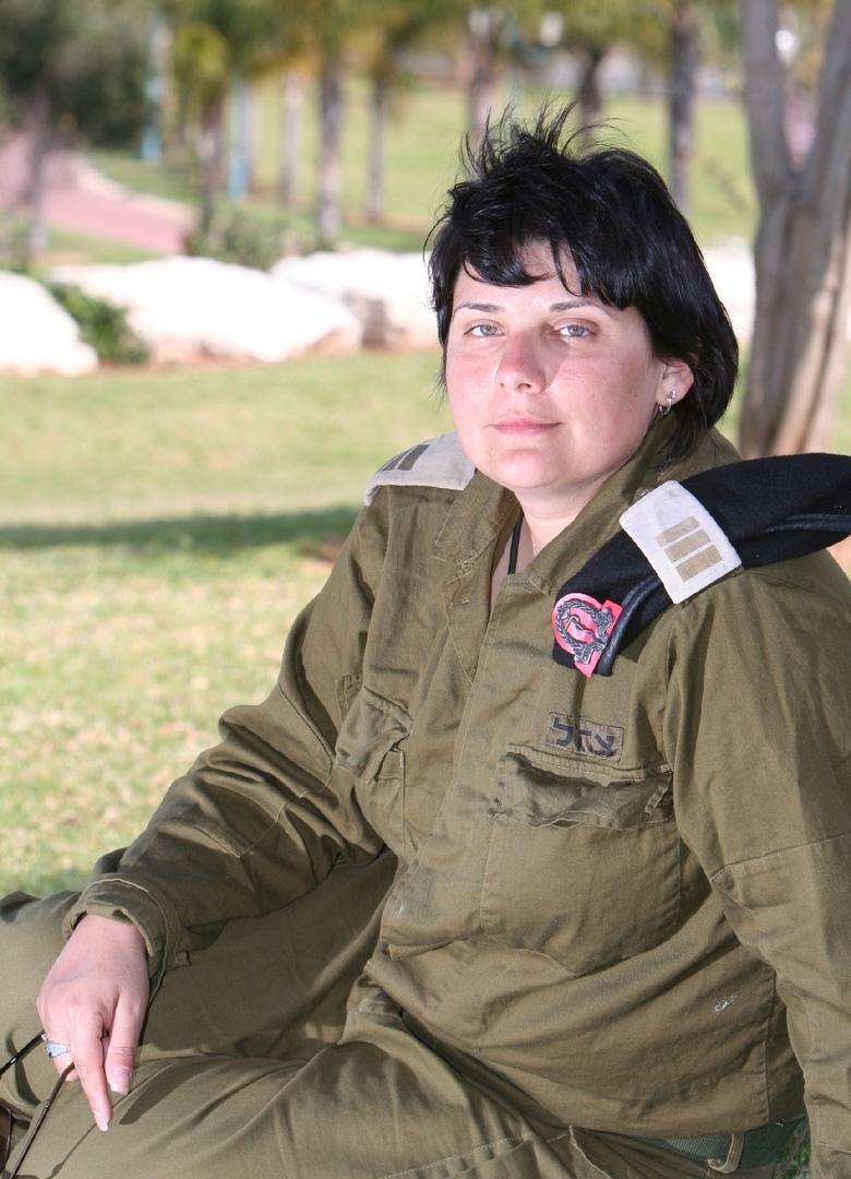 Военврач капитан Марина Каминская.