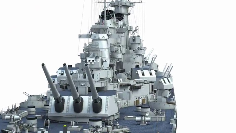 Battleship USS Missouri 3D Kagero Publishing's book by Stefan Dramiński