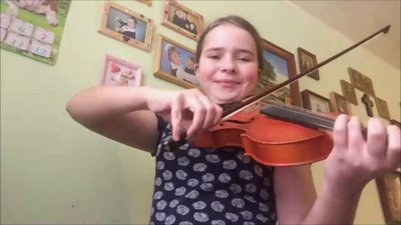 Hallelujah Violin Cover by Anna Mikchild or Julia Grankina