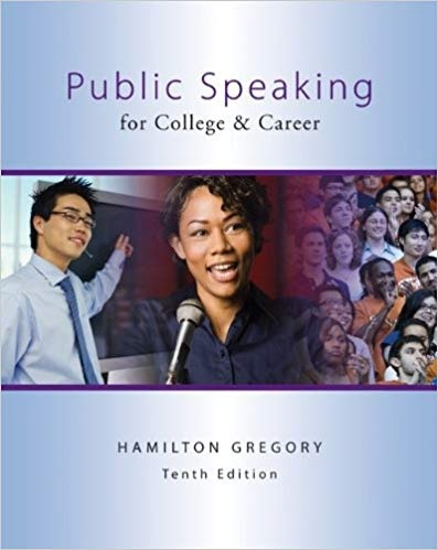 Public Speaking for College & Career, 10th Edition