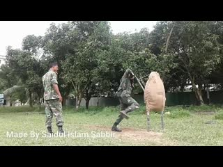 Bayonet fighting _ training _ bangladesh army