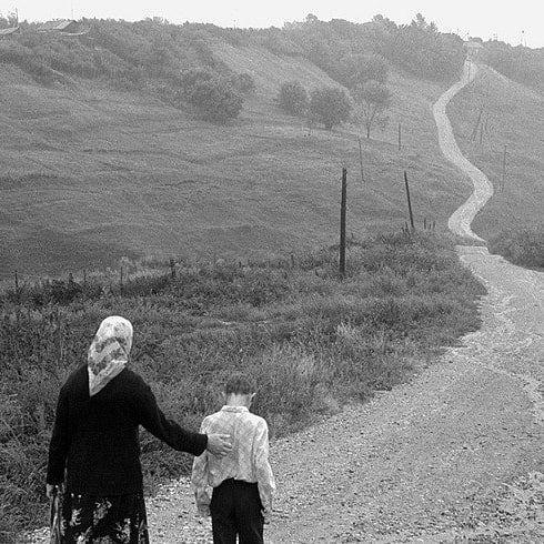 """""""Дорога в будущее"""". Посёлок Камское Устье, Татарстан. 1980-е"""