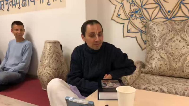 Доброта Е М Ишрита дас Прабху ЦВК Вайкунтха 07 10 2018