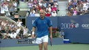 US Open 2005 Federer Agassi Final Highlights