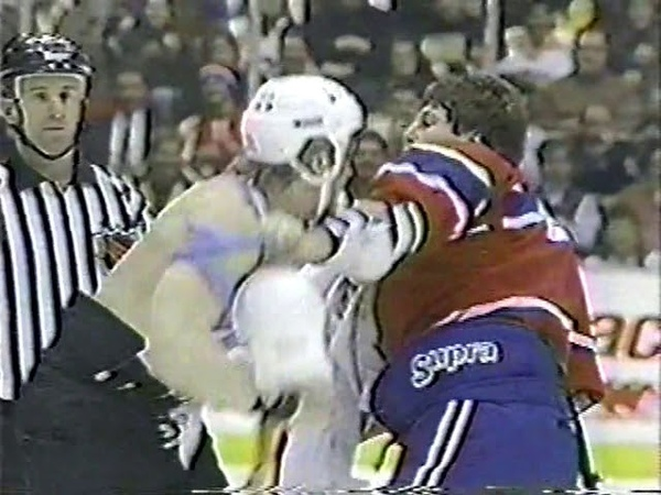 Marty McSorley vs Lyle Odelein
