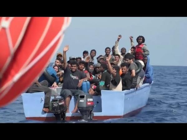 Ocean Viking liest über 100 Migranten auf Migration nach Italien nimmt erstmals wieder zu